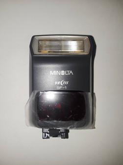 Konica Minolta Vectis SF-1 Shoe Mount Flash