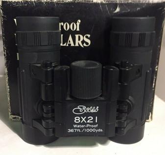 Selsi 8x21 Waterproof Roof Prism Binoculars (BRAND NEW!)