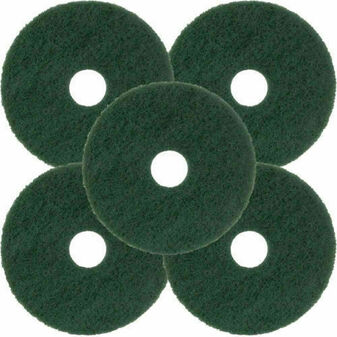 "Norton Floor Maintenance Pads Green WET HD SCRUBBING 19"" - 662610-54263 (5 Pack)"
