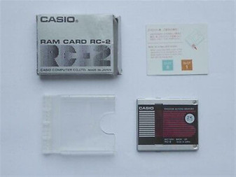 Casio RC-2 2K Byte RAM Card for FX-720 FX-750 PB-410 PB-500 BRAND NEW IN BOX!