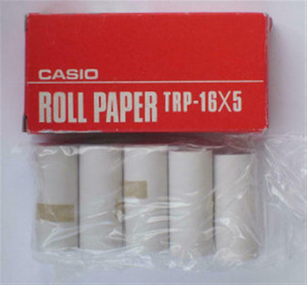 One Unopened Box of Casio CP-20 Computer Calculator TRP-16x5 Roll Paper NOS