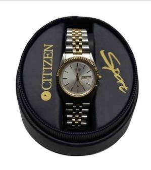 Citizen 1100-RS Sport Day Date Quartz Wristwatch (New!)