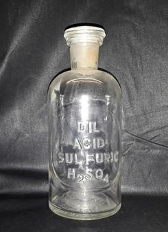 1888 Non-Labeled Pharmaceutical Glassware Vial by T.C. Wheaton Beaker