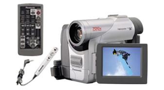 Panasonic PV-DC252 Mini Digital Palmholder MultiCam Camcorder (BRAND NEW!)