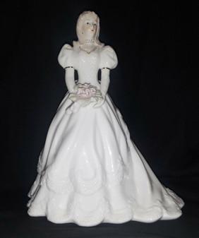 La Vie 3124 Bride Quinceanera Porcelain Figurine (New!)