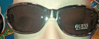 GUESS CHROME Sunglasses MODEL #X5  *MADE IN ITALY* *FREE SHIPPING* GUESS ? RARE
