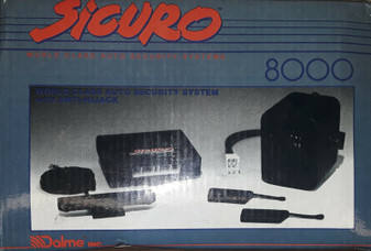 Siguro 8000 Remote-Activated Anti-HIJack Auto Security System (BRAND NEW!)