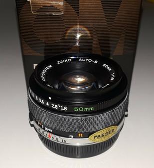 Olympus Zuiko auto-S 50mm/f1.8 interchangeable Macro Lens (BRAND NEW!)