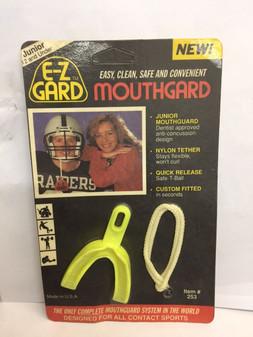 JUNIOR Mouth Guard Piece Teeth Protector Football Basketball Soccer Boxing MMA