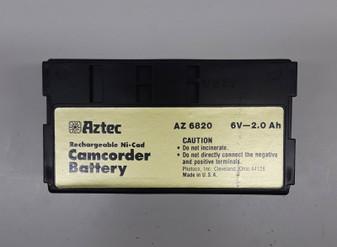 Aztec AZ6820 Rechargeable Ni-Cad Camcorder Battery