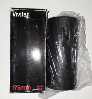 Vivitar 175mm Universal Lens Case (Brand New!)