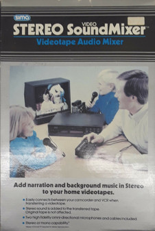 Sima SSM-2 Stereo/Video SoundMixer (BRAND NEW!)