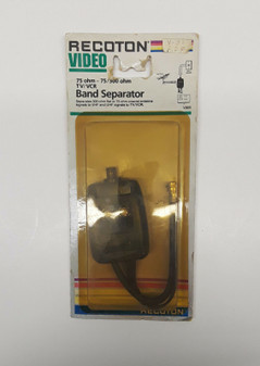 Recoton V320 75ohm TV/VCR Band Seperator (BRAND NEW!)