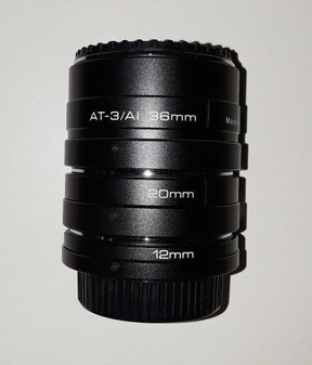 Vivitar Automatic Expansion Tube Set for Nikon (BRAND NEW!)
