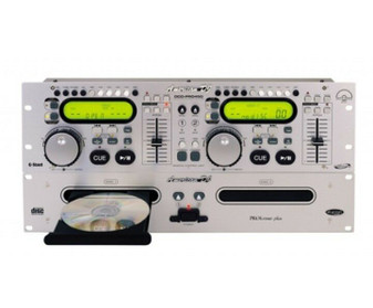 American DJ DCD-PRO450 DSP Professional Dual Compact Disc Player (New!)