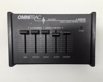 Omnitrac MS2000 Video Audio Mixing System by Arkon (BRAND NEW!)
