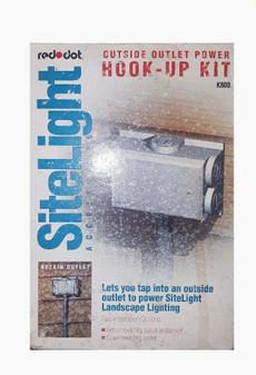 Red Dot K800 | SiteLight | Outside Outlet Power Kit (New!)
