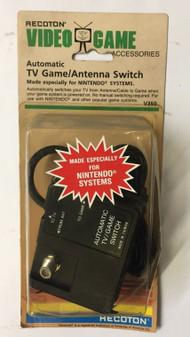 RECOTON TV GAME SWITCH VHF/UHF TO ANTENNA SWITCH BOX NINTENDO