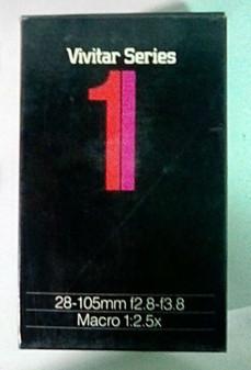 Vivitar Series 28-105mm/f2.8-3.8 Macro 1:2.5x Lens for Olympus (BRAND NEW!)