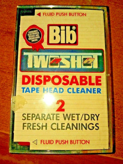 BIB | Tape Head Disposable Cleaner | FREE SHIPPING | *VINTAGE ITEM*