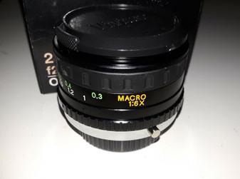 Vivitar 28-52mm/f2.8 Macro 1:6x Lens for Olympus (BRAND NEW!)