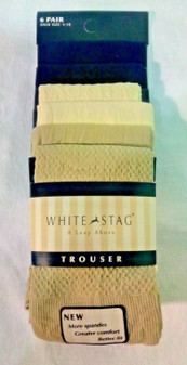 COLORED Socks for Women | White Stag Shoe Size 4-10, Sock Size 9-11 | Six Pairs