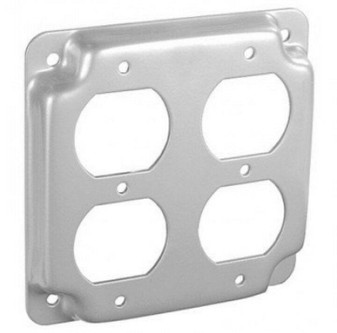EGS 503536 Raised Surface Duplex Receptacle Cover (New!)