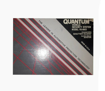 Quantum VS-8603 | Vehicle Security System | Shatter Guard (New!)