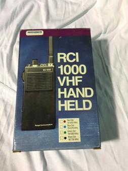 Ranger RCI 1000 VHF Handheld 154.570 MHZ BRAND NEW!
