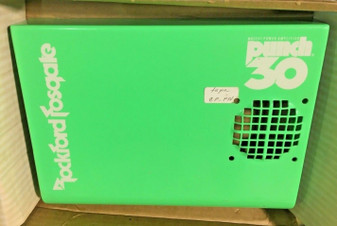 Rockford Fosgate Punch 30 amplifier cover amp shroud new in box! Green w/ White