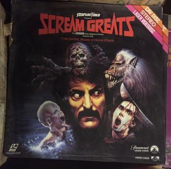 NEW Scream Greats TOM SAVINI MASTER OF HORROR FX Volume ONE laserdisc Fangoria