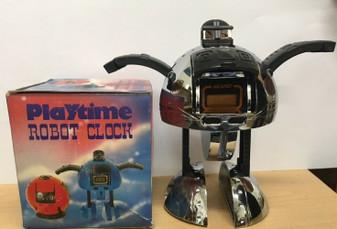 Robot Transformers LCD Rare Quartz Watch NELSONIC clock PLAYTIME ROBOT CLOCK