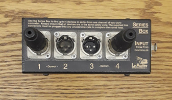 Le Maitre 4-Way Pyro Controller Series Box (Brand New!)
