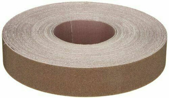Norton K225 Metalite Abrasive Roll, Cloth Backing, Aluminum Oxide, Grit P120
