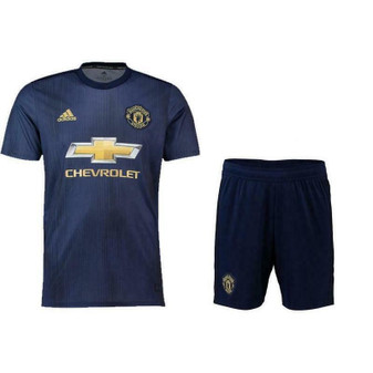 ADIDAS MANCHESTER UNITED AUTHENTIC 2018/19 3RD JERSEY AND SHORTS NEW WITH TAGS!