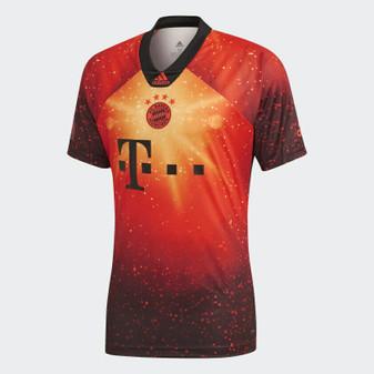 adidas FC Bayern Munich 2018 2019 Digital 4th Kit EA Soccer Football Jersey L