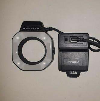 Minolta 80PX Auto Electroflash Macro Set (BRAND NEW!)