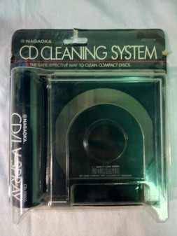 NAGAOKA CD CLEANING SYSTEM KIT CD1100 | FREE SHIPPING | CD CLEANER |