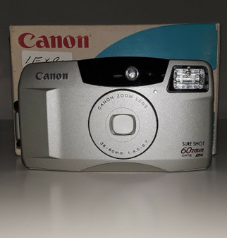 Canon Sure Shot 60 Zoom Date 35mm Camera (BRAND NEW!)