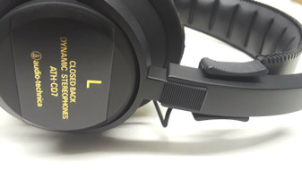 Audio Technica ATH-CD7 Closed Back Dynamic Stereophones | Made in Japan (New!)