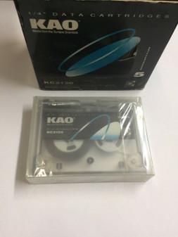 Data Cartridge Storage KAO KC2120 10005 307.5ft - BRAND NEW - 5 Cartridges