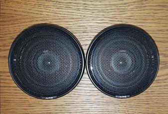 "(2) Alpine 6248SX 4"" Midrange Car Audio 2-Way Speaker System (BRAND NEW!)"