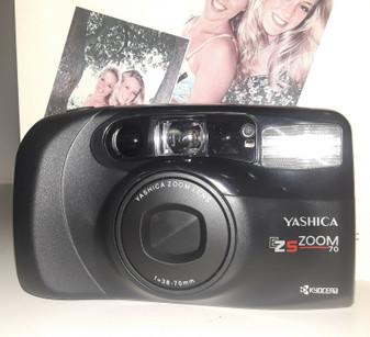 Yashica EZS Zoom 70 35mm Film Camera Kit (BRAND NEW!)