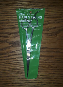 """7 1/2"""" Hair Styling Shears (BRAND NEW!)"""