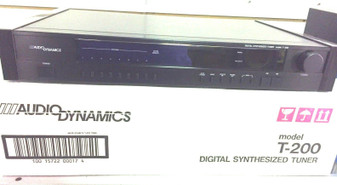 Audio Dynamics T-200 DIGITAL SYNTHESIZED TUNER RARE VINTAGE! BRAND NEW!