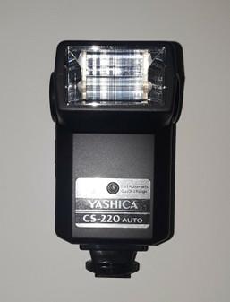 Yashica (Kyocera) CS-220 Electronic Flash Adapter (BRAND NEW!)