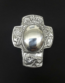"""3"""" x 2"""" Pewter Cross Shaped Case (BRAND NEW!)"""