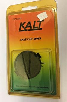 49mm Snap In Front LENS CAP DSLR SLR Camera Lenses  ~ Kalt New Old Stock