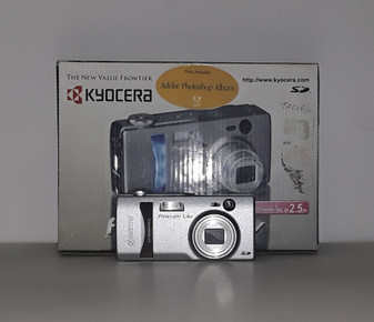 Kyocera Finecam L4v Digital Camera (BRAND NEW!)