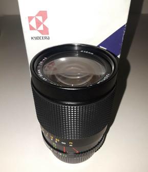Yashica 28-80mm/F3.9-4.9 Interchangeable Macro Lens (BRAND NEW!)